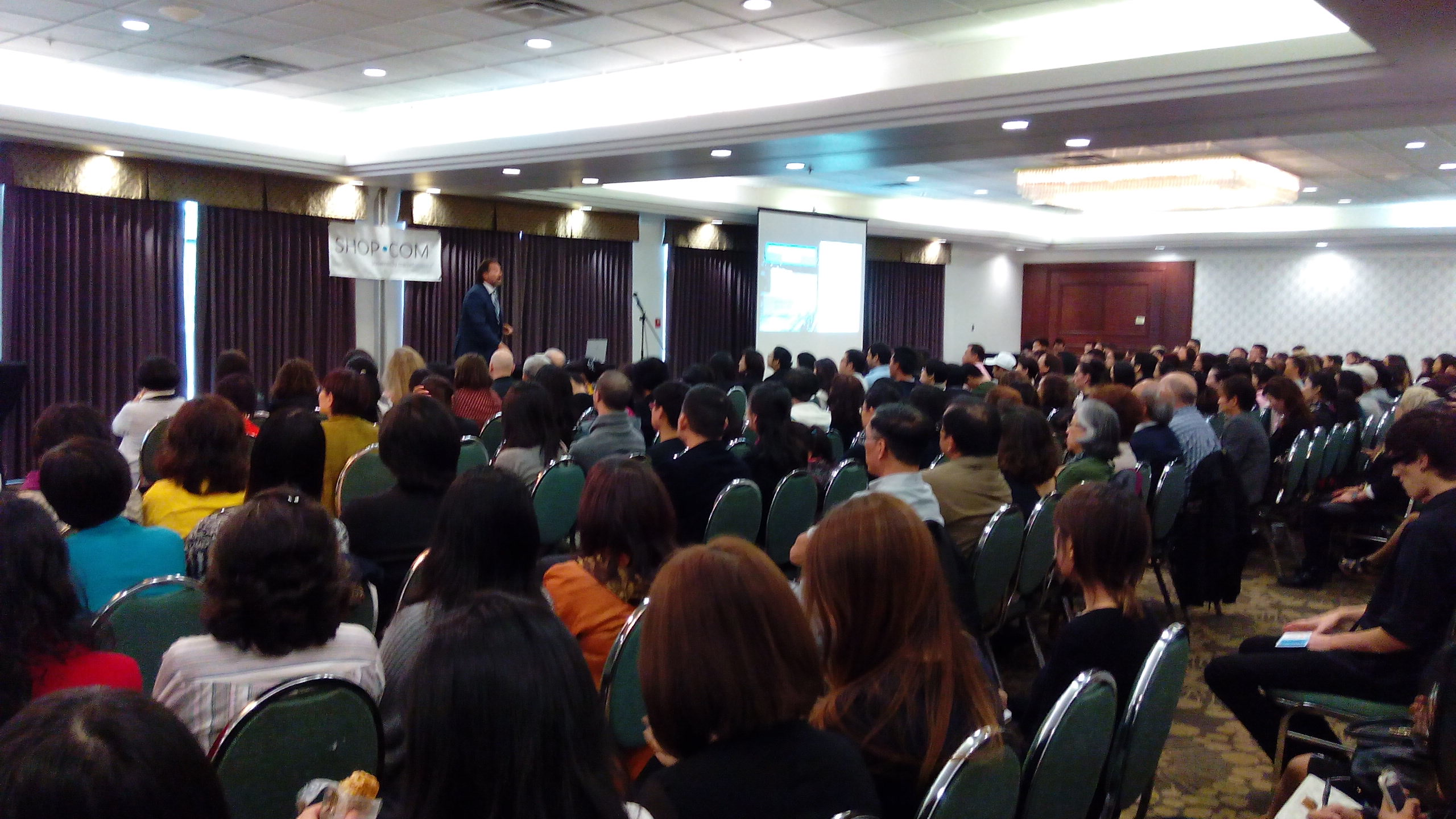 Dennis Franks captivated the audience at Vancouver UBP
