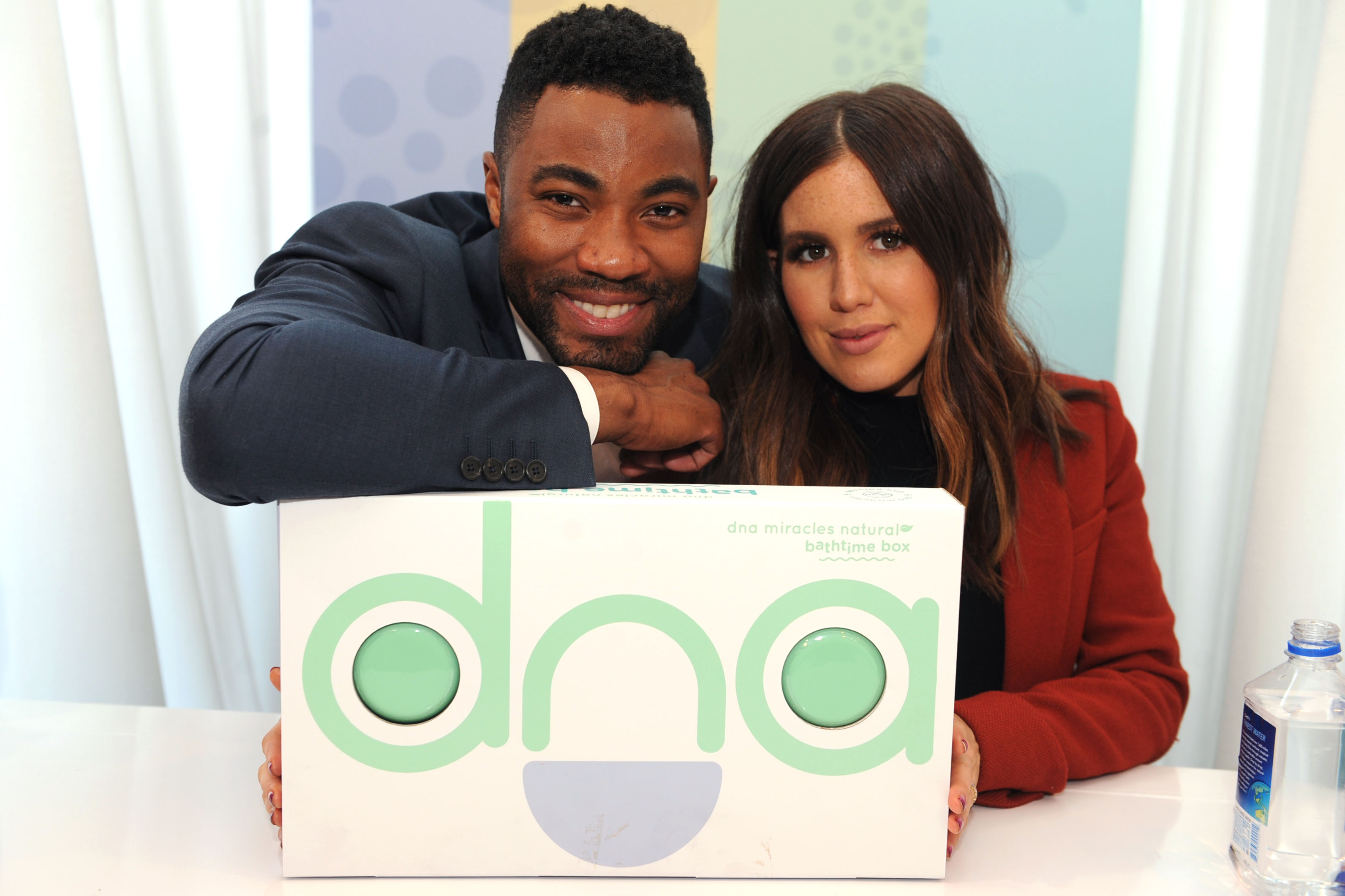 Duane and Amber with DNA box